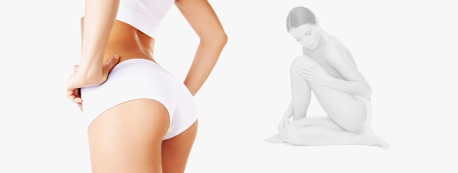 Woman body plastic surgery